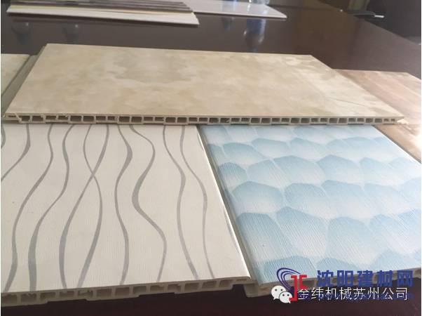 PVC木塑生态艺术墙板生产线