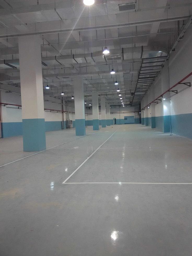 东北制药仓储库房地面、墙面工程