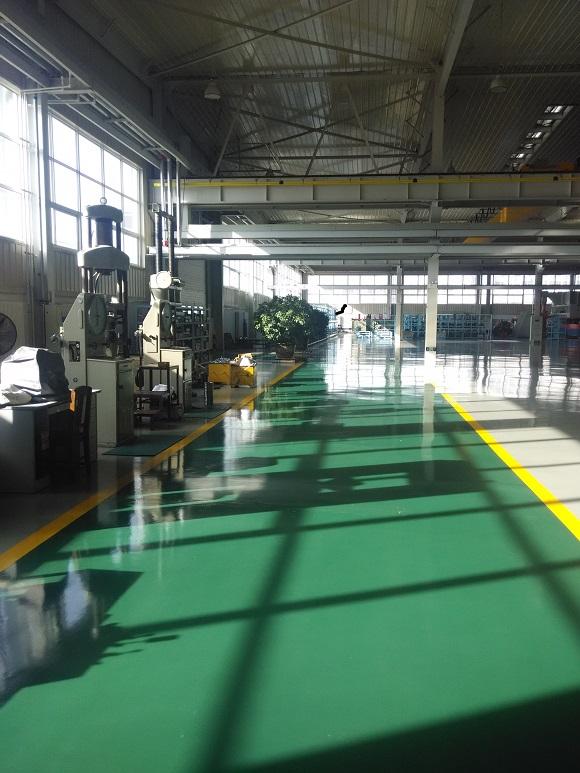 瓦轴集团生产车间地坪工程