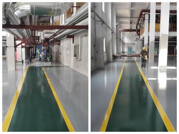 营口太古糖厂生产车间地坪工程