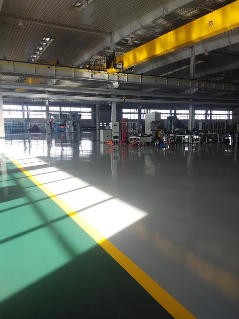 瓦轴国家轴承实验基地防腐防水防护地坪
