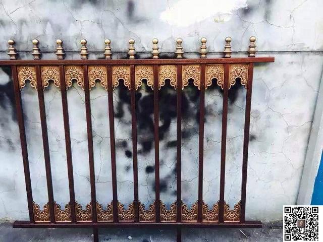 大连铝艺围栏