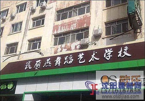 哈尔滨武丽艳舞蹈艺术学校铺设欧氏舞蹈教室专用地板