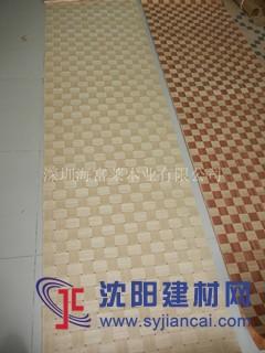 白橡编织电视背景墙装饰材料