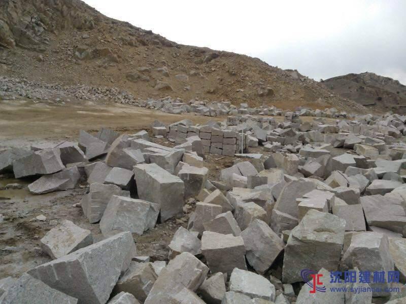 沈阳毛石 混料 碎石水稳 山皮石