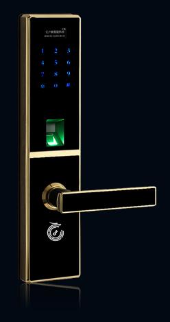 当前位置:骏恒智能门锁>>产品展示>>指纹密码锁