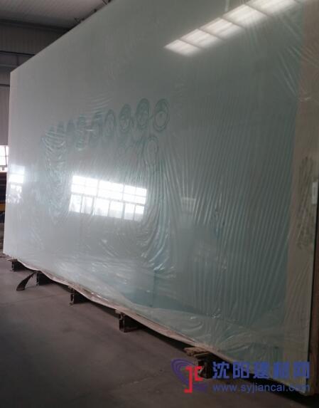 19mm+2.28pvb+19mm双钢化超白夹胶玻璃
