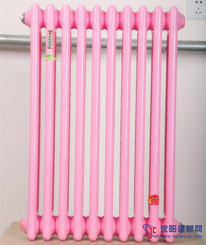 钢制柱型暖气片散热器QFGZ-306钢三柱暖气片
