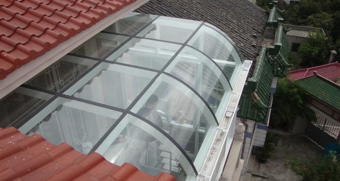 玻璃露台阳光房制作