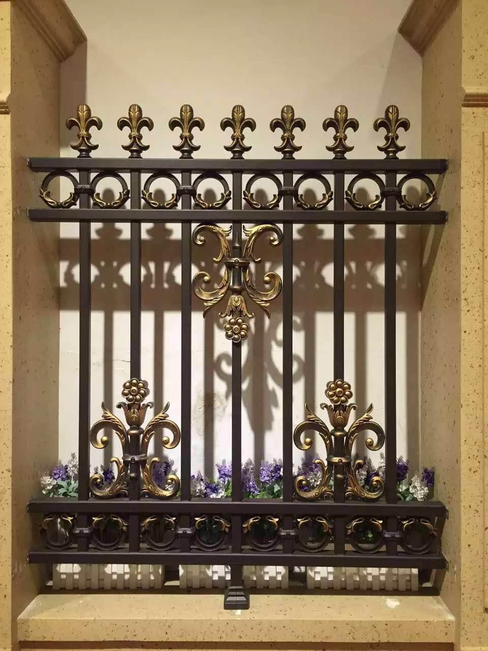 吉林铝艺大门长春庭院门围栏