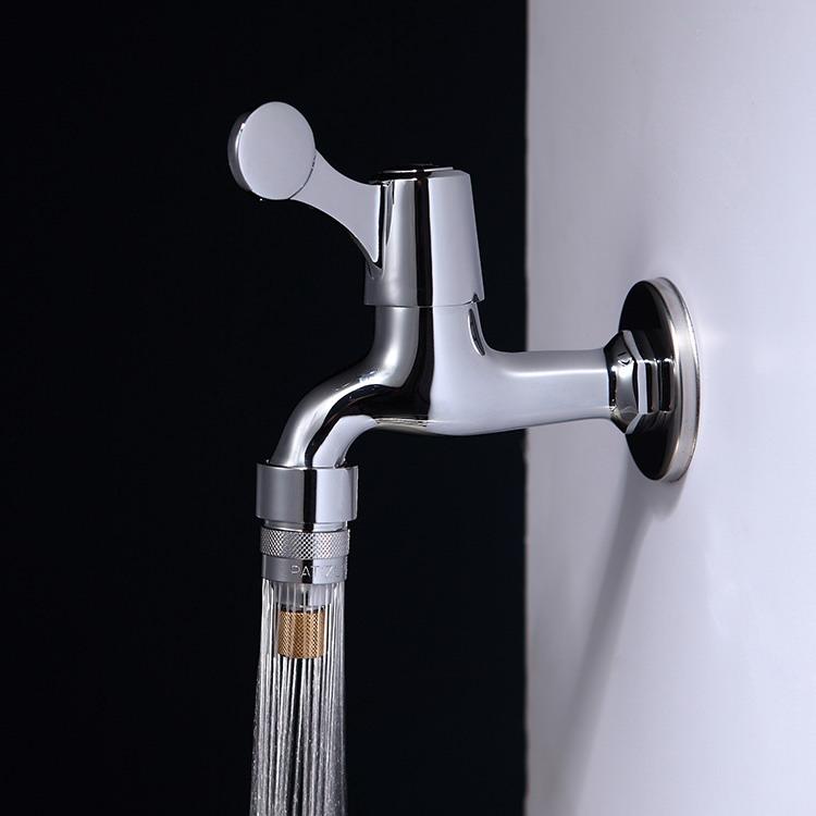 沈阳易安庄发明专利可调流量中长节水水龙头批发