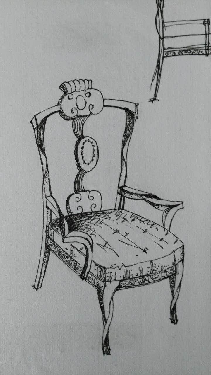 简笔画 手绘 书架