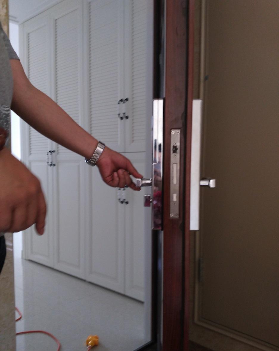 防盗门锁防盗指纹锁密码锁免费安装