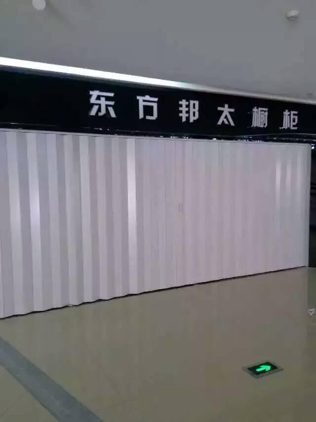沈阳商场档口pvc折叠门厂家