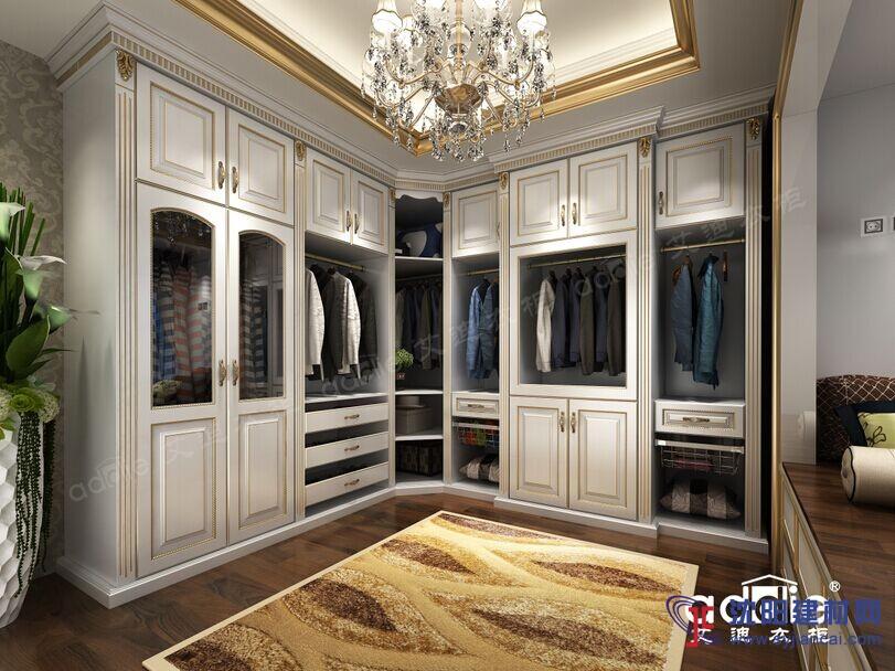 艾迪衣柜雅典娜系列整套家具定制