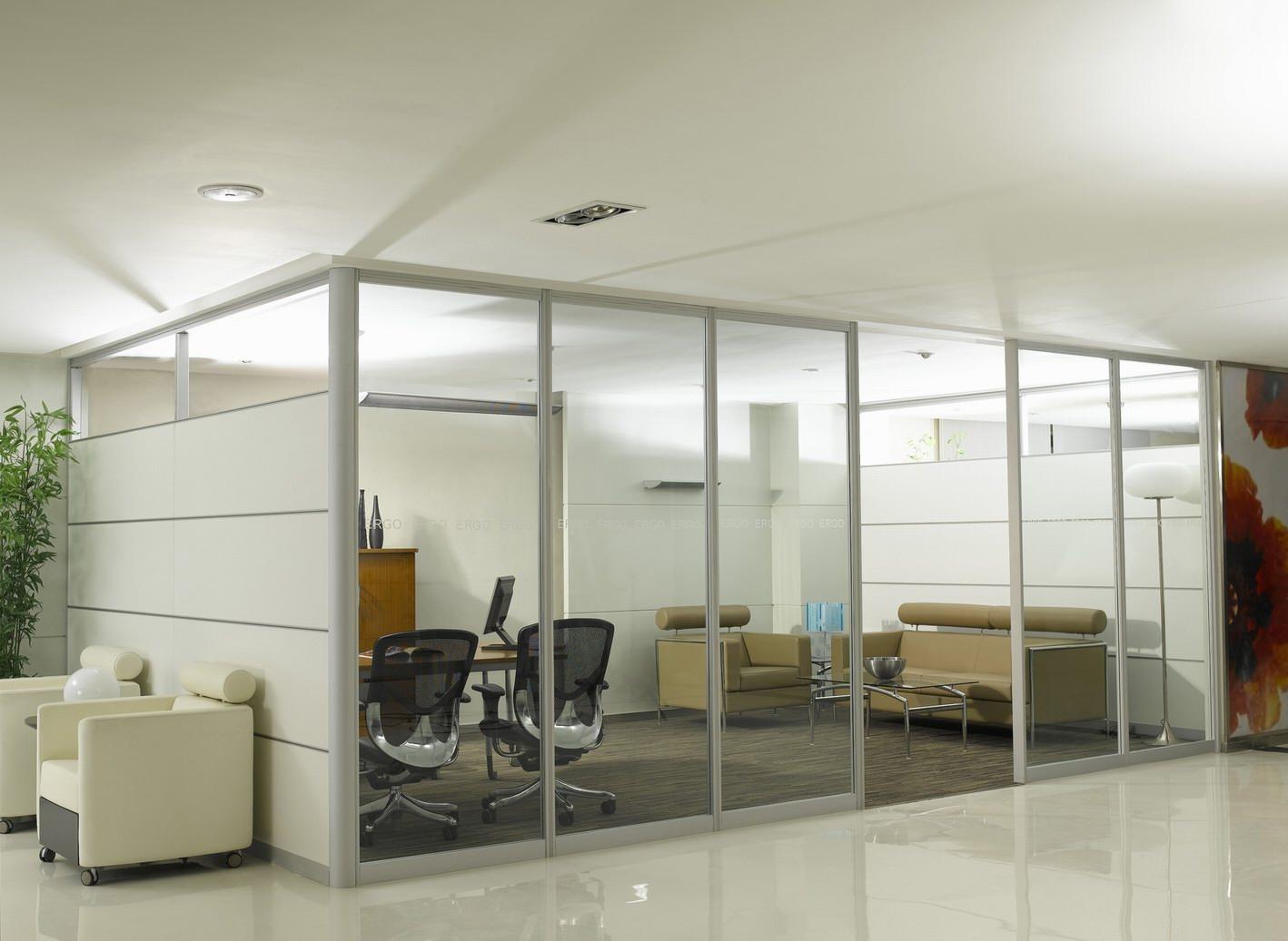 乐虎国际娱乐app下载办公单层玻璃隔断