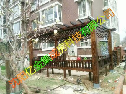 沈阳碳化木销售与安装