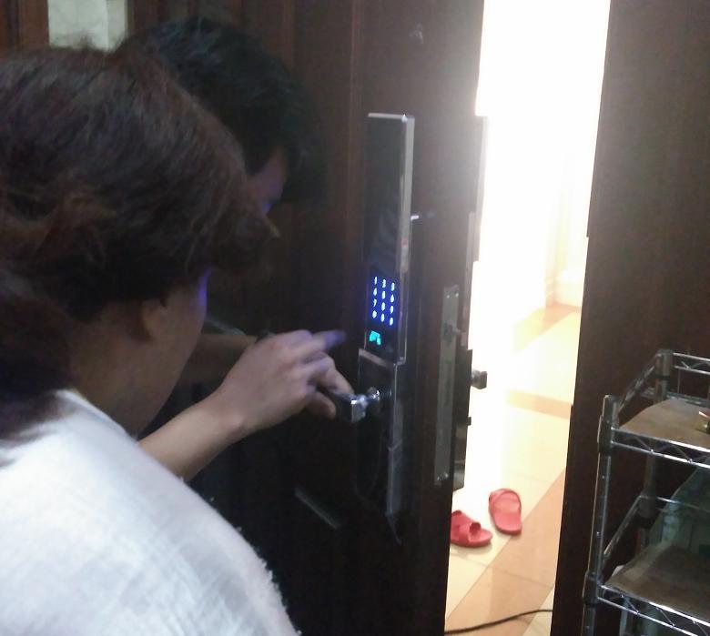 沈阳专业安装维修密码锁指纹锁公司