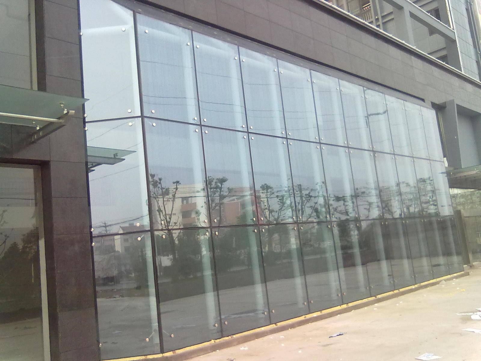 中空玻璃幕墙厂家沈阳华林玻璃