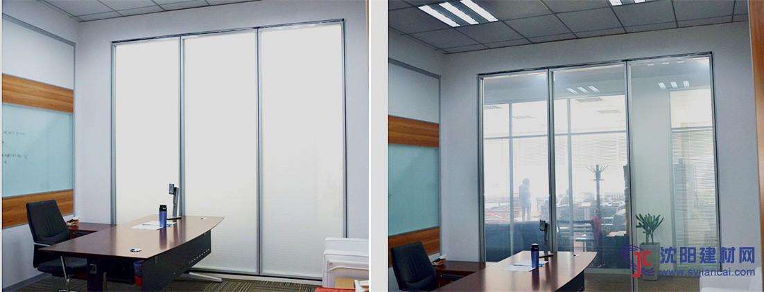 沈阳智能调光玻璃 沈阳通电玻璃