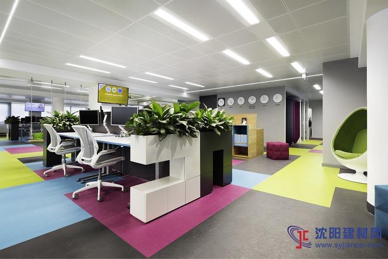 现代时尚办公室装修