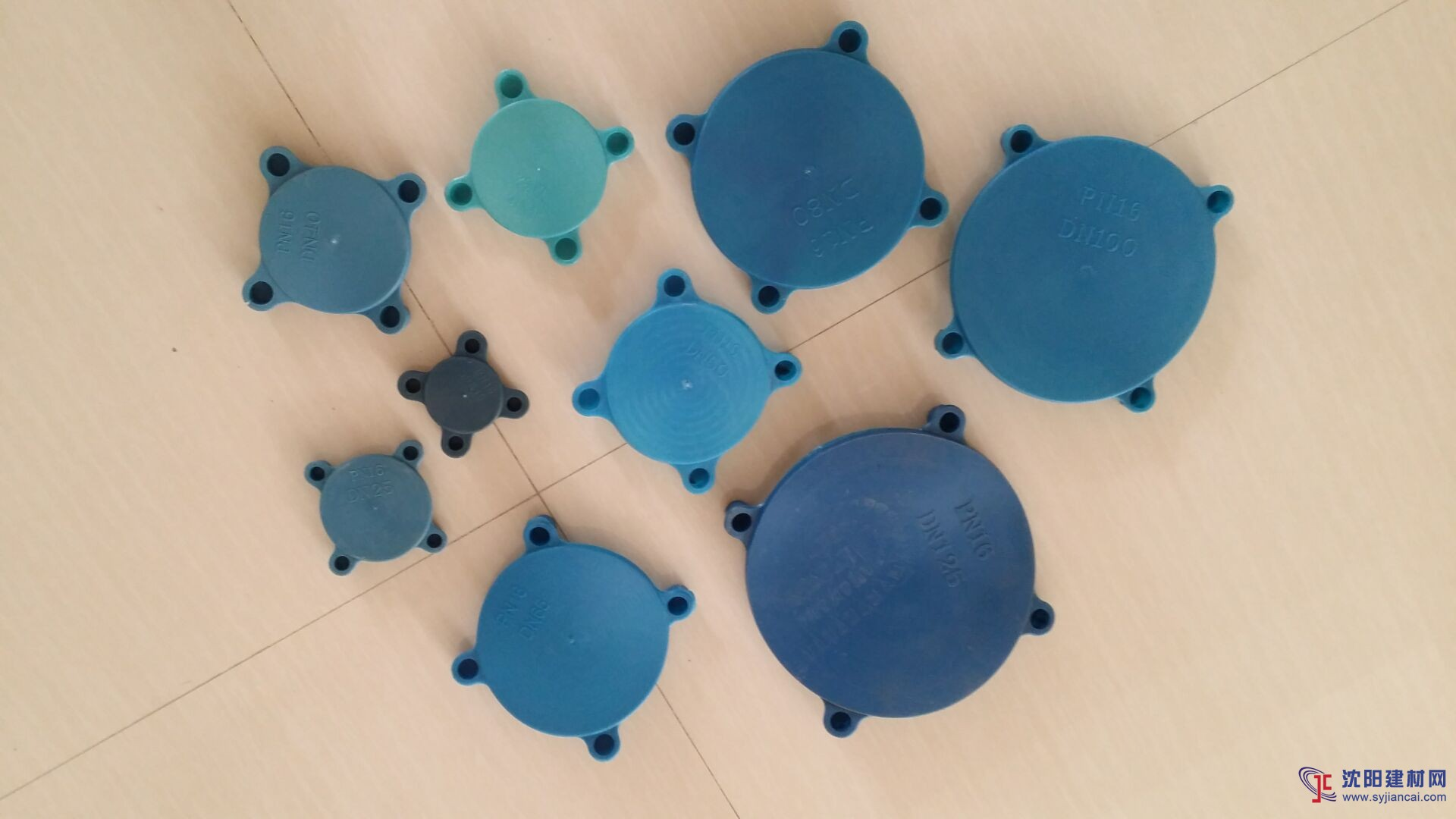 蓝色法兰保护盖,美标DN15-300法兰封盖