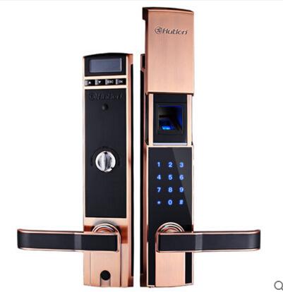 汇泰龙家用防盗门指纹锁密码锁智能电子锁防盗大门锁