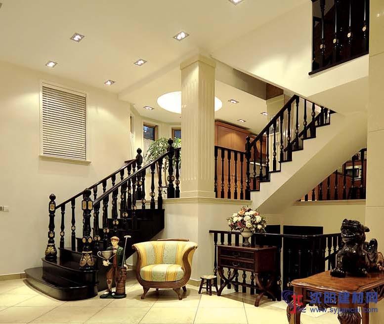 实木楼梯展示