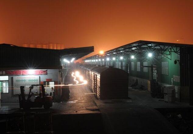 沈阳某货场使用我司众光LED产品