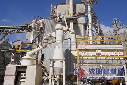 哥伦比亚石灰石磨粉生产线