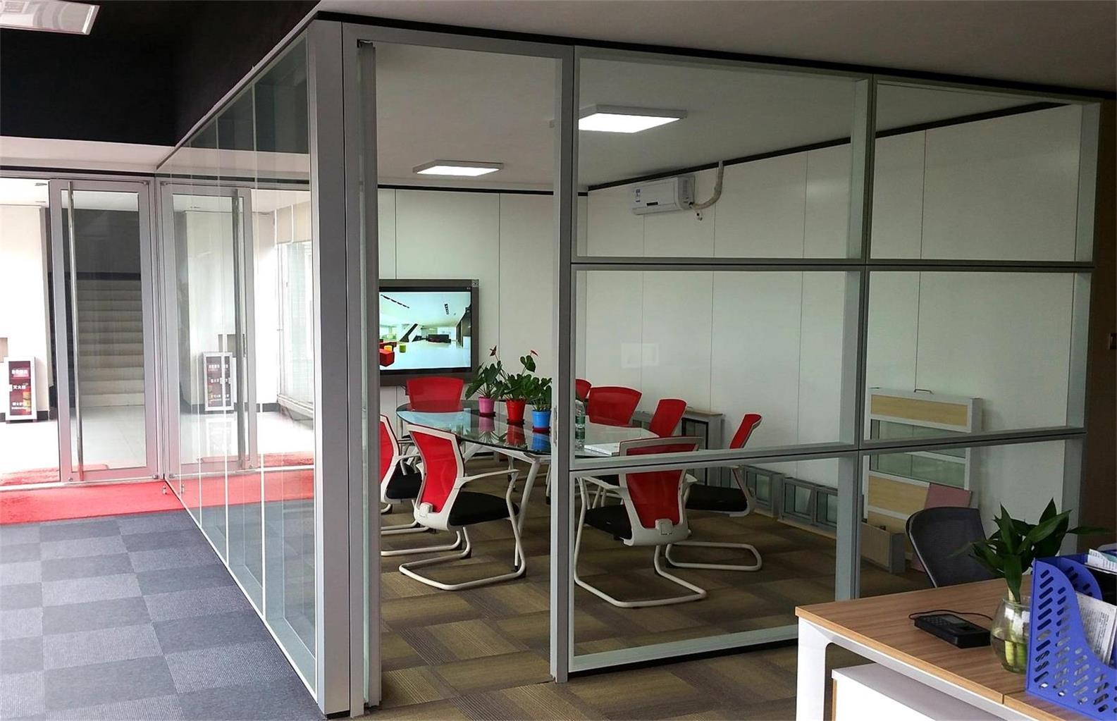 隐框内钢外铝高端隔墙 高品质选方科