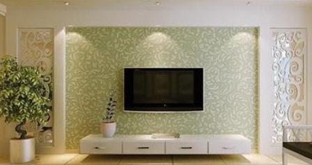 硅藻泥电视背景墙设计-沈阳和一硅藻泥