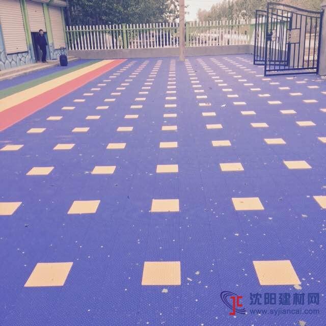 儿童游乐场专用悬浮拼装地板