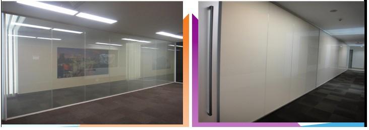 智能电控调光玻璃/通电玻璃/电致变色玻璃/雾化玻璃