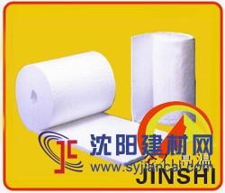 陶瓷纤维毯的机械强度及导热性有关