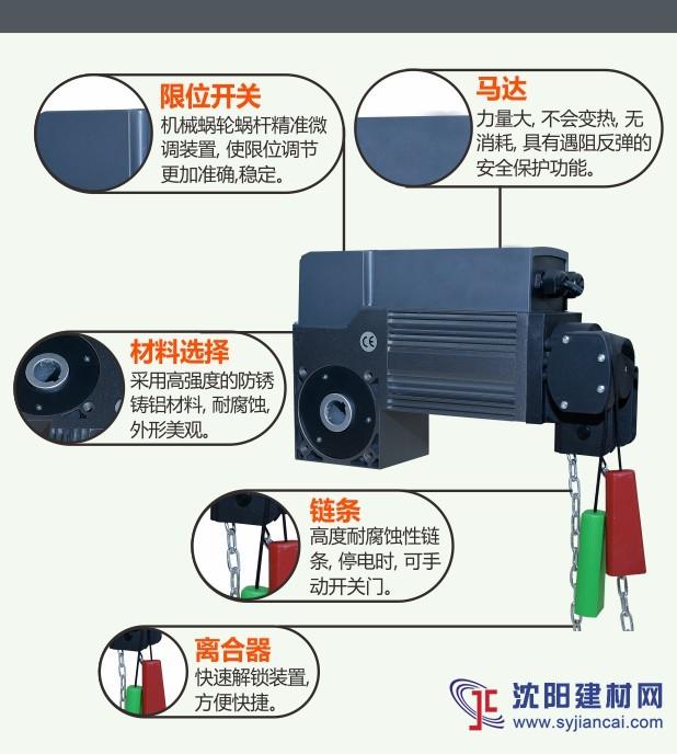 遥控工业门电机_锐玛AAVAQ提升式: i60