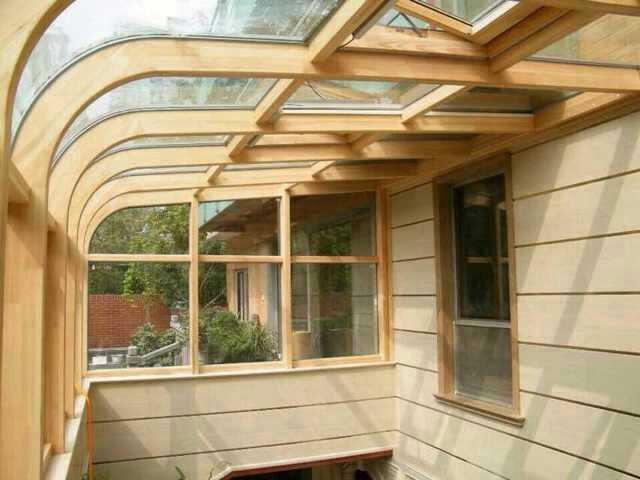 铝包木窗,铝包木阳光房