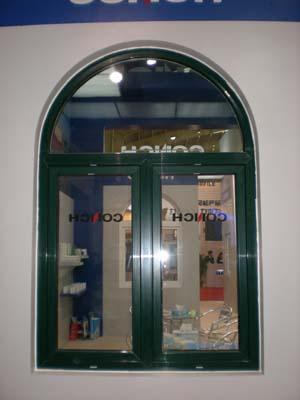 拱形塑钢平开窗-yabo88wap下载亚博体育中天门窗阳光房