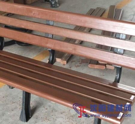 科技木塑木椅凳 1.5米长户外公园椅子