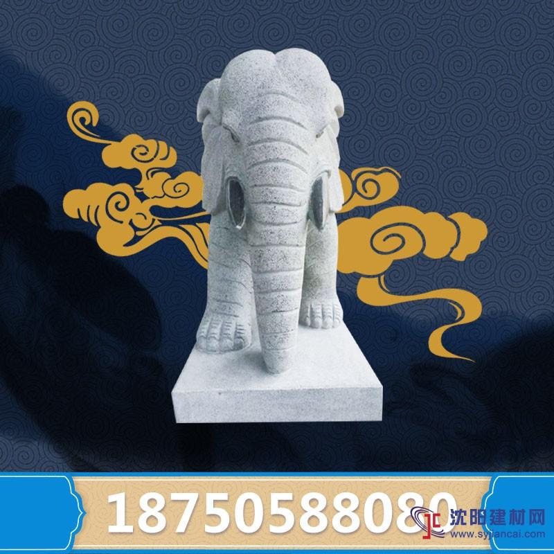 现货销售芝麻大象雕塑 放门口镇宅 可定制 吉祥如意