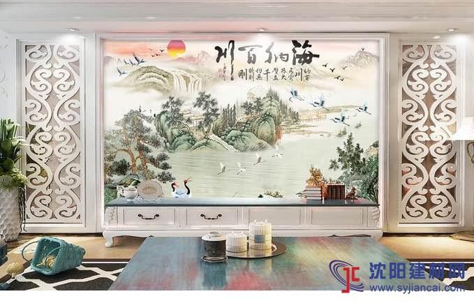 宅邸印象艺术瓷砖背景墙