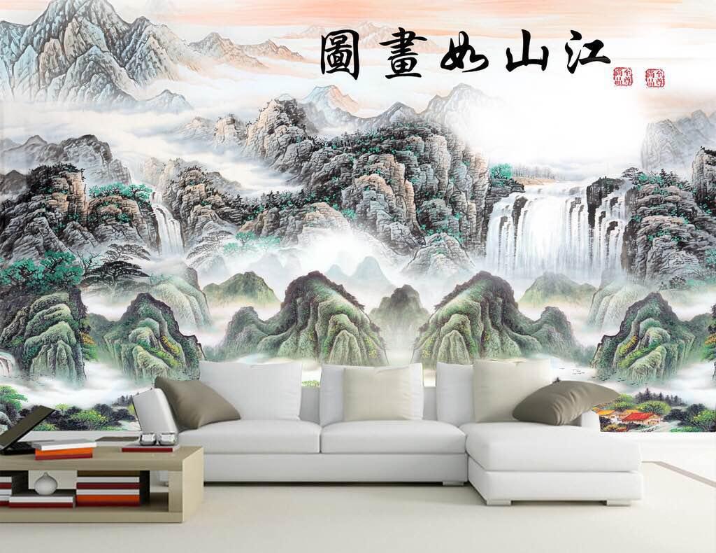 彩雕背景墙多少钱一平?