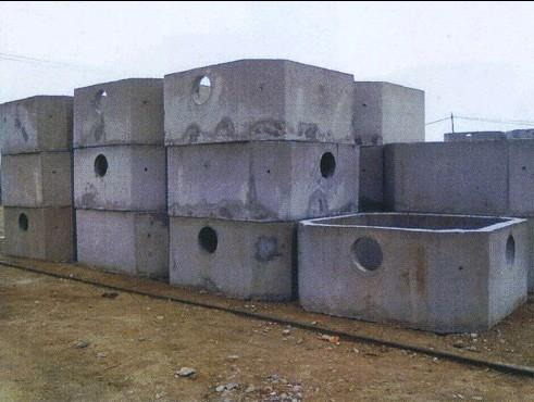 沈阳钢筋混凝土化粪池排水井检查井