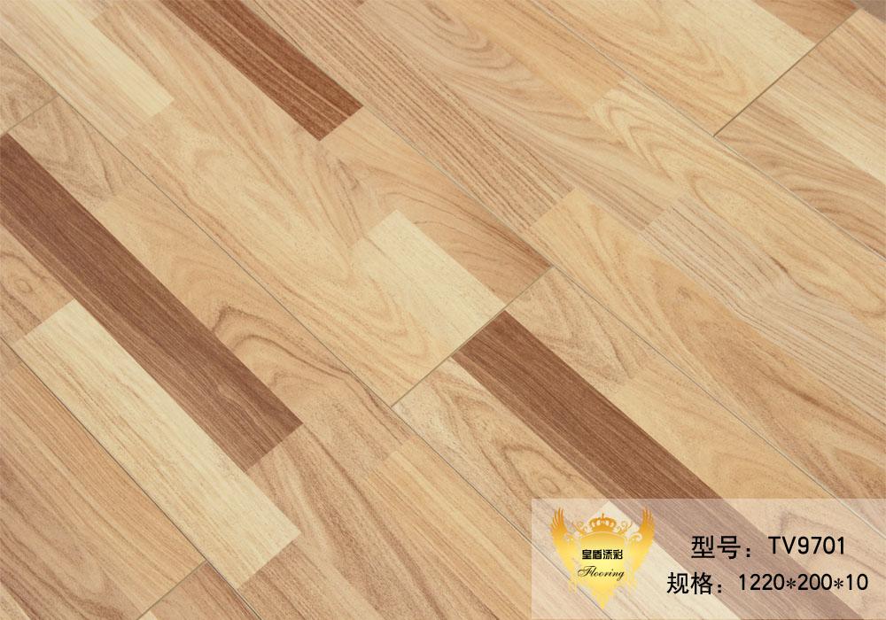 皇盾添彩地板TV9701