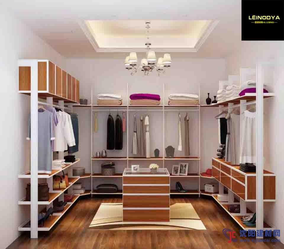 环保衣帽间整体衣柜家具定制,雷诺帝娅衣帽间定制-产品展示 雷诺