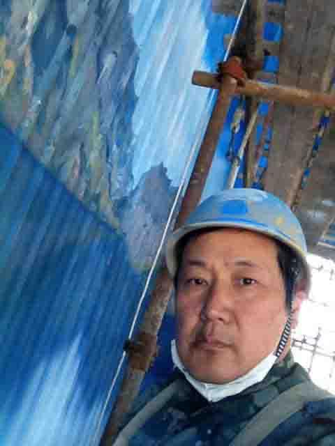 大型游乐场墙画
