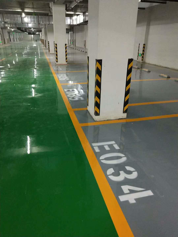 地坪漆工程案例1