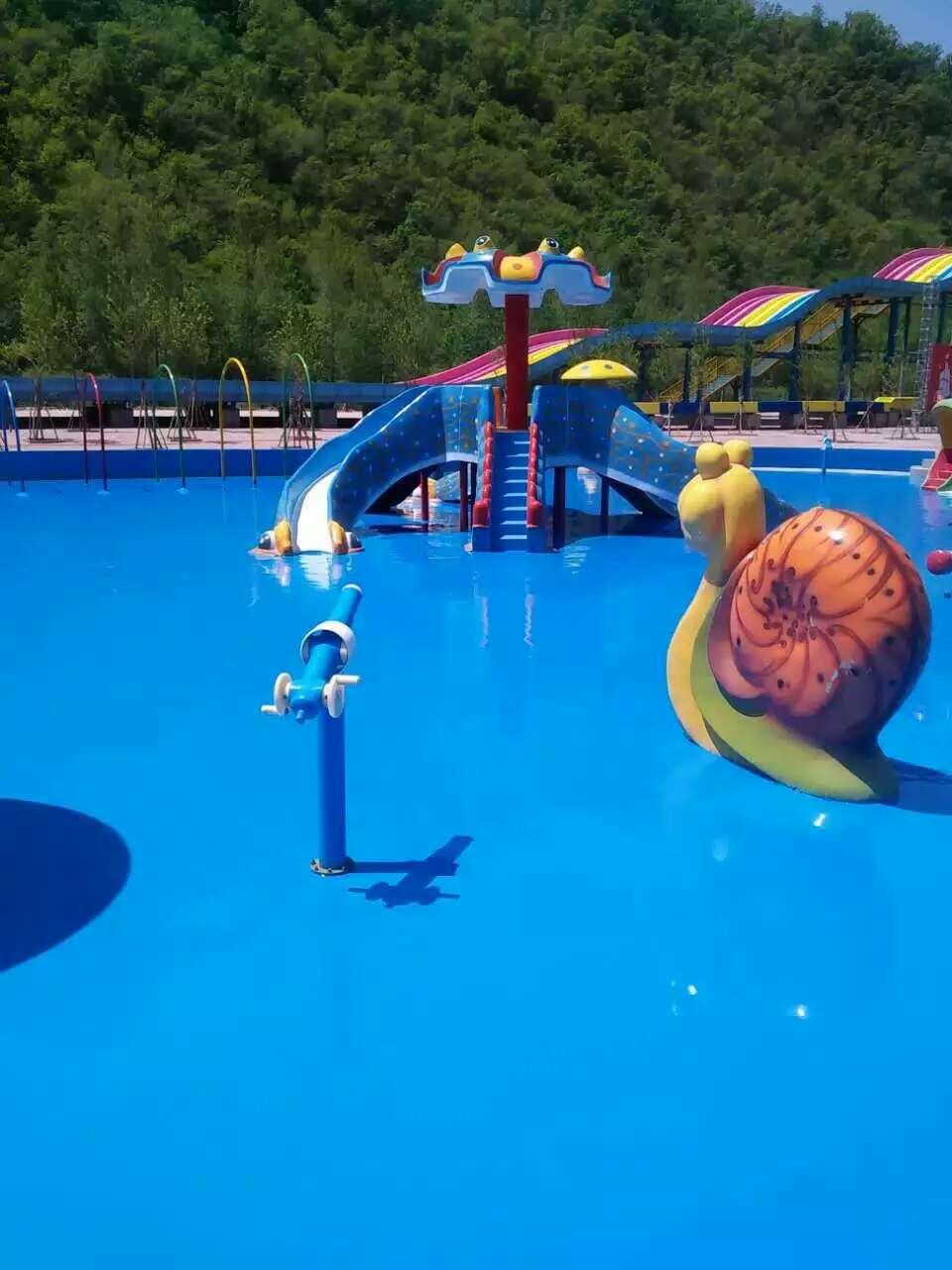 室外水上乐园聚脲聚氨酯弹性地坪