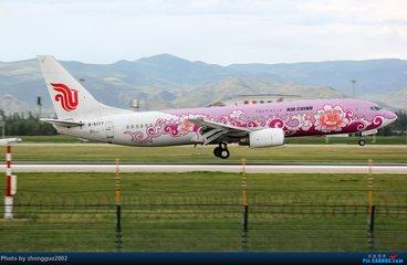 中国飞机彩绘