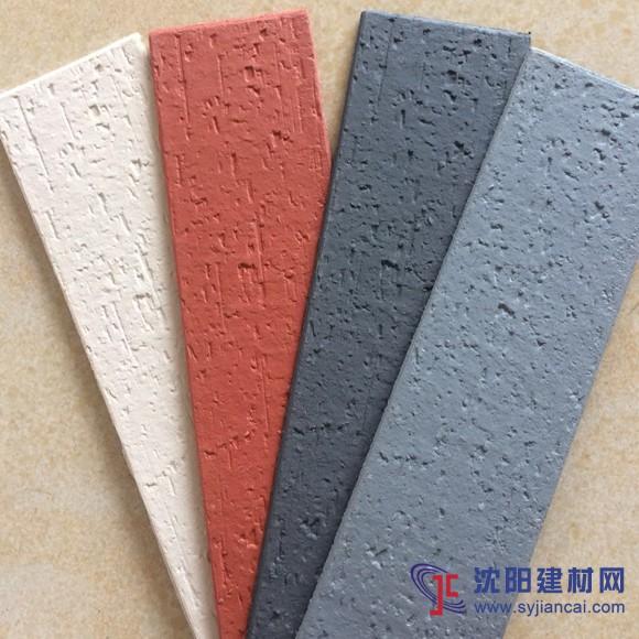 软瓷价格,江西旧城改造外墙仿古砖大工地